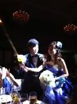 秋結婚式2人