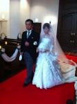 結婚式父娘