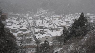 津和野の雪
