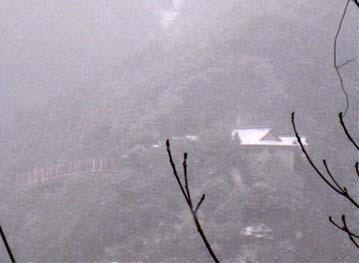 津和野の雪3