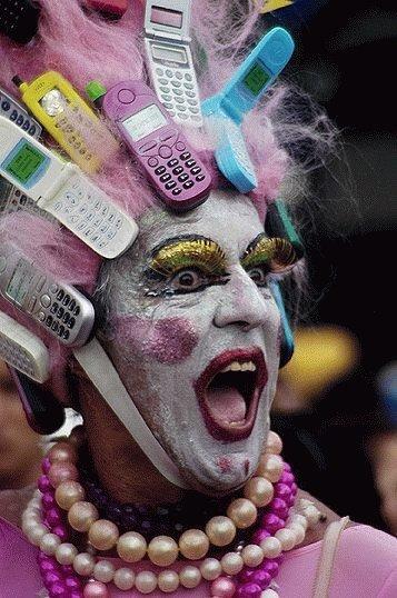 携帯の仮装