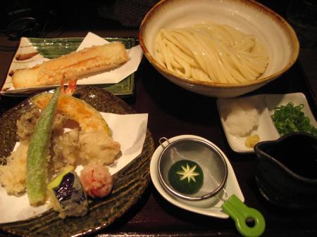 天ぷらぶっかけ+ちくわ天
