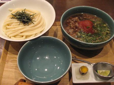 まるごとトマトと和牛のつけ麺