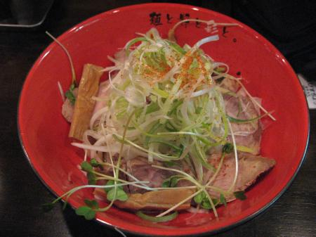 焦がし醤油和え麺