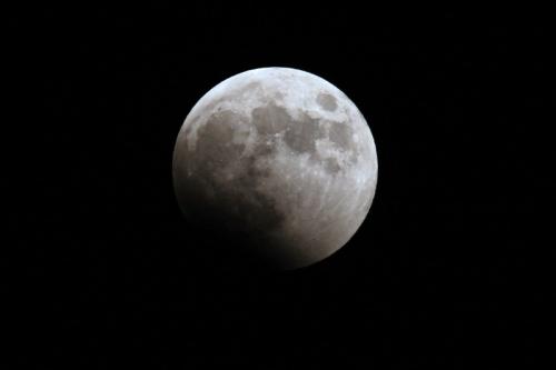皆既月食2014 ①