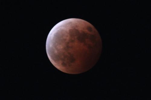 皆既月食2014 ⑤