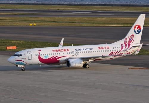 中国東方航空 紫孔雀塗装機 1