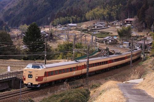 中央西線田立 381系 2