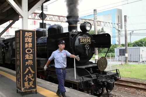 八代駅 人吉 2