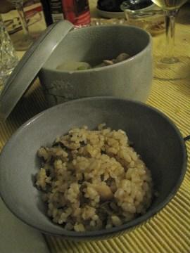 炊き立て玄米