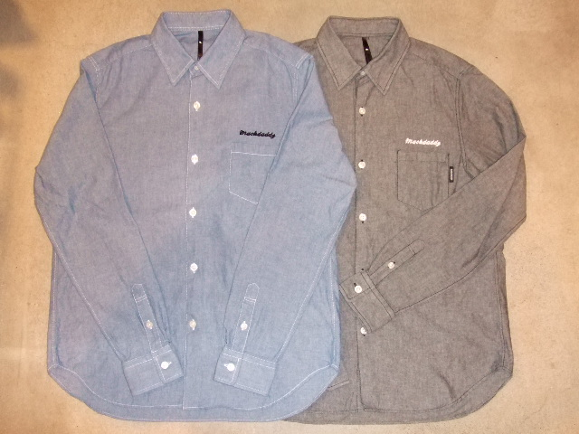 MDY MACKDADDY CHAMBRAY SHIRT