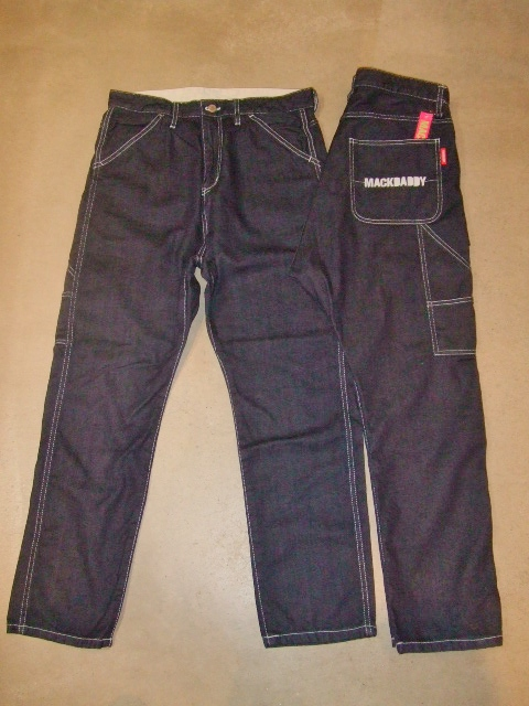 MDY PAINTER SARROUEL DENIM PANT