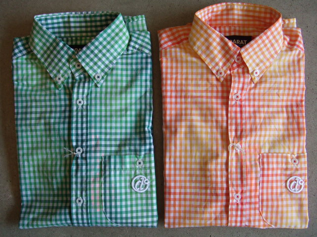 doarat gradation check shirt