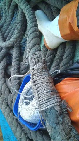 ロープの補強