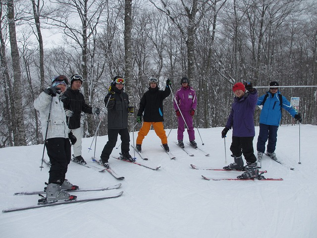 スキーだよ全員集合
