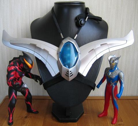 DX ゼロスラッガーセット+ゼロ+ベリアル+ネックレス専用トルソー