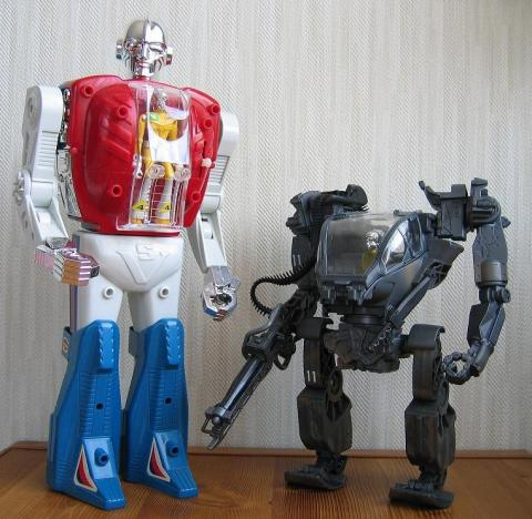 ロボットマンと