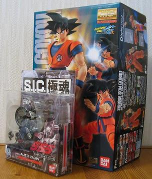 S.I.C.極魂 オートバジン & MG 孫悟空