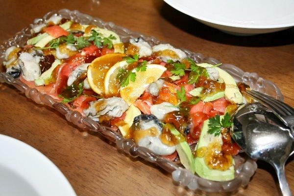 牡蠣のポン酢ジュレ