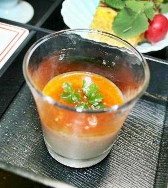 長芋の雲丹醤油