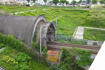 武蔵野線(貨物)トンネル