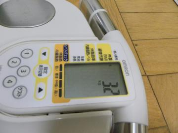 くり子体重測定4