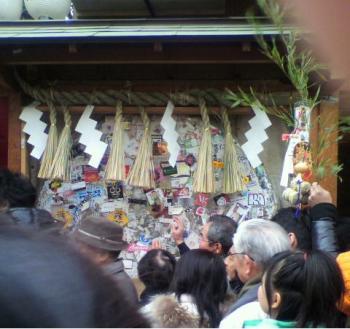 今宮戎神社のドラ