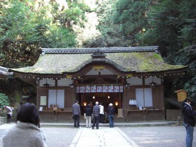 狭井神社 拝殿