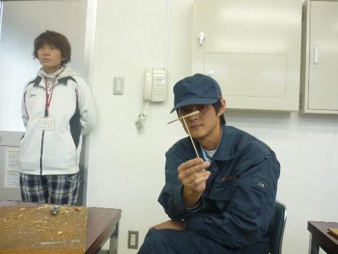 山岡さん竹とんぼ