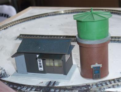 20120301HOナローレイアウト給水タンク1
