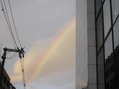 午後6時の虹
