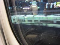 帰りの新幹線車窓