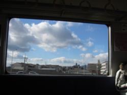 JR宝塚線車窓からの眺め