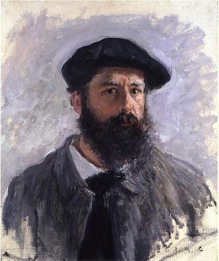 モネの自画像