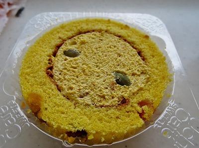 プレミアム かぼちゃ三昧ロールケーキ (3)