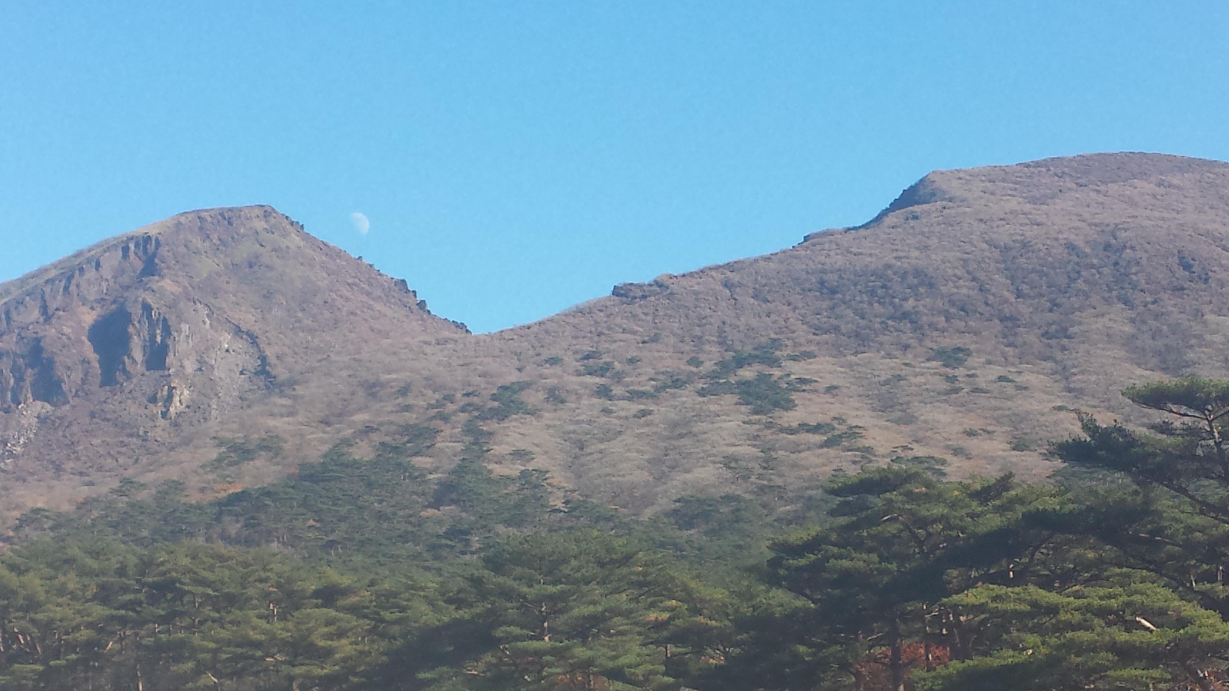 えびの高原 韓国岳(からくにだけ)