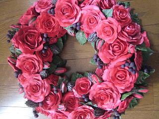 バラのリース2