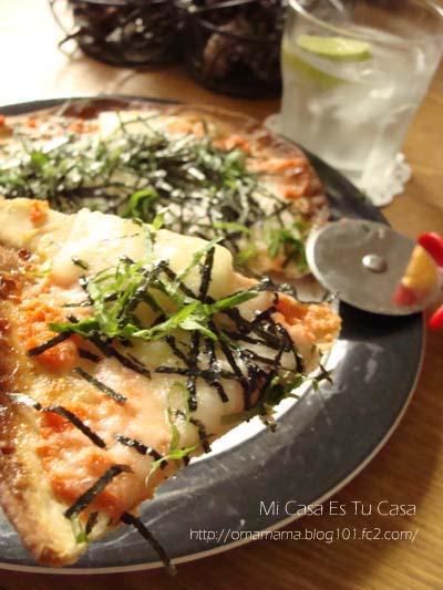 Mentai Mochi Pizza
