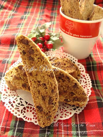 Coffee Biscotti