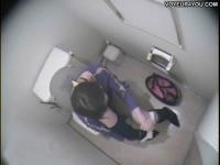 【女子トイレ盗撮】結構みんなオナニーしてるんだなwww