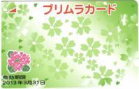プリムラカード緑