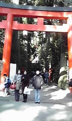 箱根神社2009大みそか