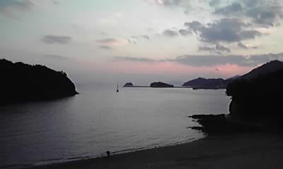 仙酔島の夜景