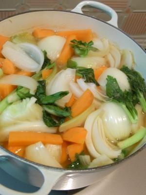 野菜スープ 斜め全体