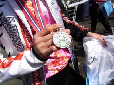 表彰式メダル2