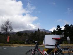 水ケ塚公園から見た富士山
