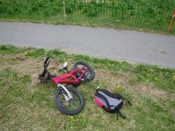 K-Matsu son's bike