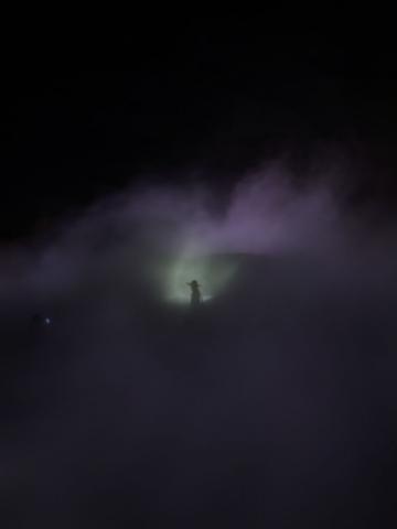 霧のインスタレーション