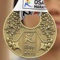 大阪マラソンメダル