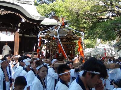 生根神社 宮出